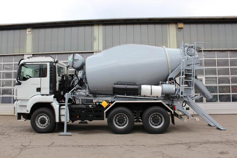 Aimix transit concrete mixer