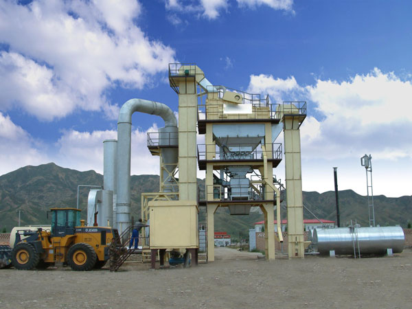 ALQ40 Hot Mix Asphalt Plant for Sale