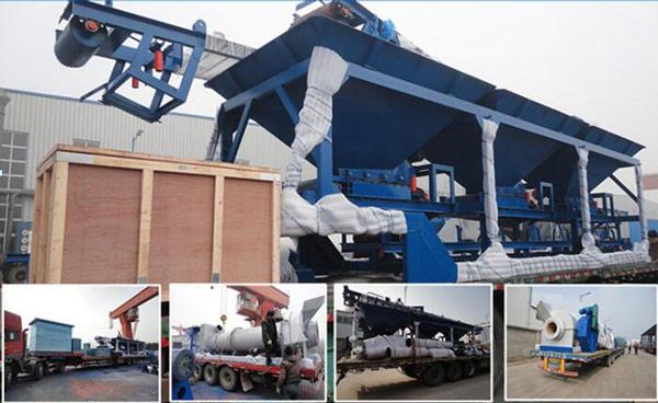 Aimix asphalt plant case