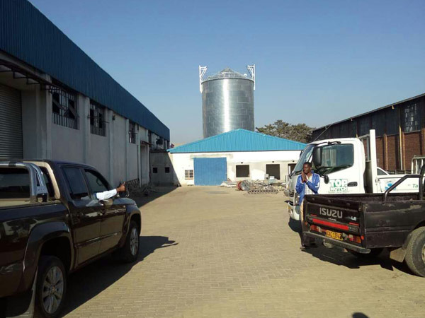 Aimix grain silo installed in Sri Lanka 4