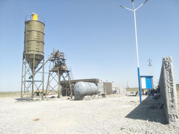 Aimix HZS35 in Uzbekistan 3