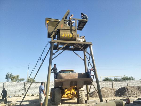 Aimix HZS35 in Uzbekistan 4