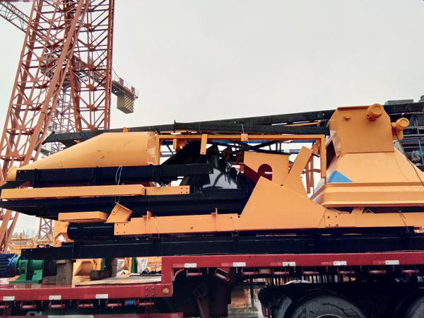 Aimix HZS75 concrete plant to Russia