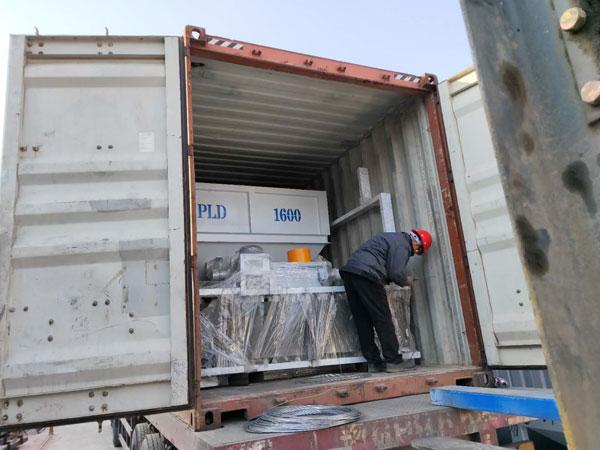 Aimix HZS50 concrete plant to Tajikistan 2