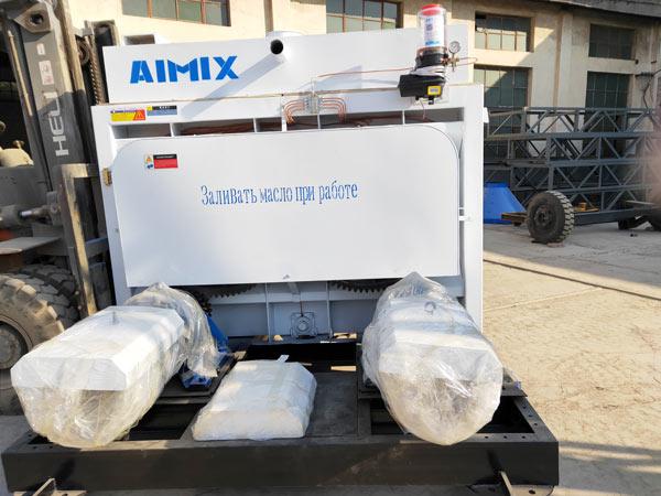 Aimix HZS50 concrete plant to Tajikistan 3