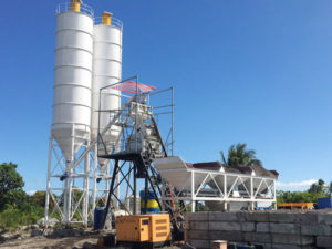 Aimix HZS50 concrete plant in the Philippines 4
