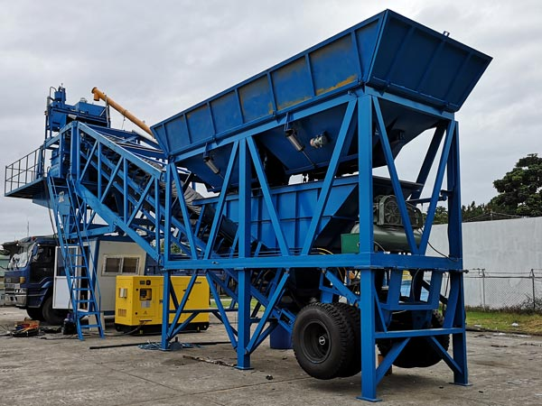 Aimix YHZS35 concrete plant in the Philippines
