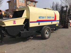 Aimix HBTS90 concrete pump to Korea 1