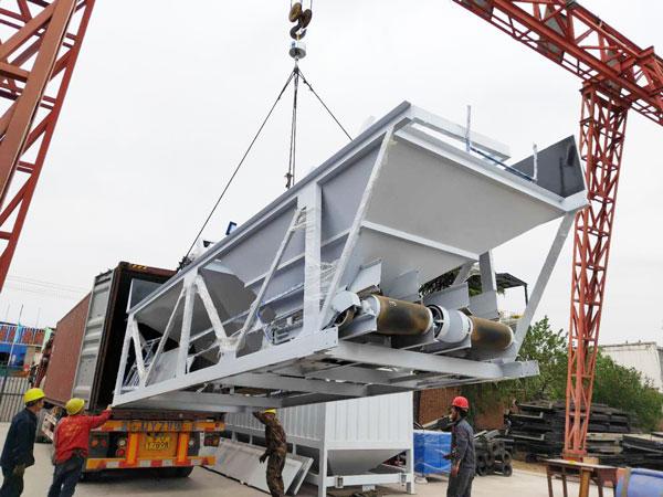 Aimix HZS50 concrete plant sent to Bangladesh 2