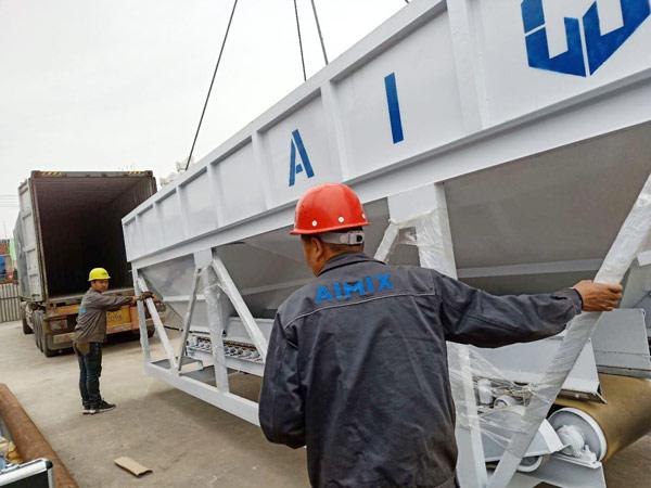 Aimix HZS50 concrete plant sent to Bangladesh 4