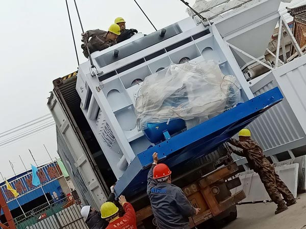 Aimix HZS50 concrete plant sent to Bangladesh 5