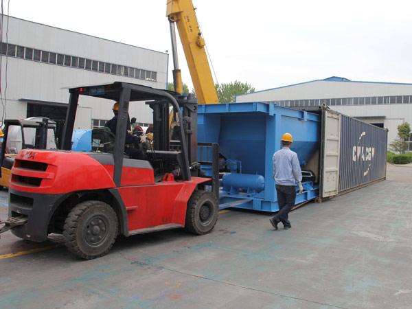 Aimix LB1200 asphalt plant exported to I