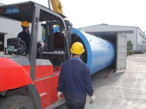 Aimix LB1200 asphalt plant exported to Indonesia 3