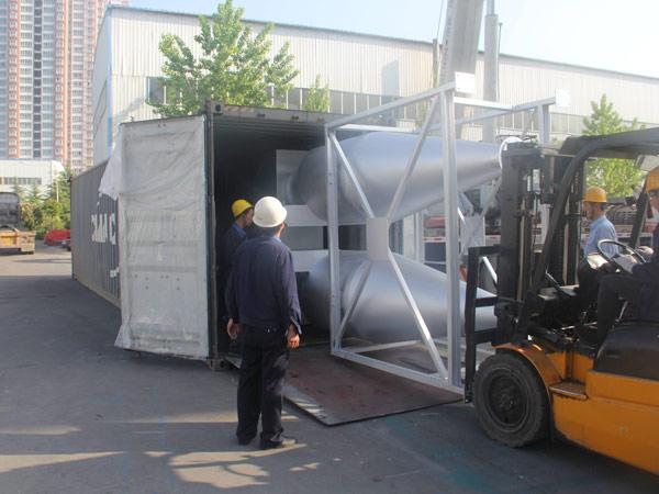 Aimix LB1200 asphalt plant exported to Indonesia 4