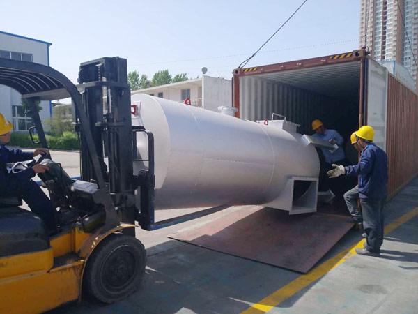 Aimix LB1200 asphalt plant exported to Indonesia 5