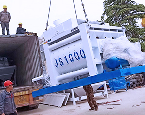 Aimix HZS50 Concrete Batching Plant Was Sent To Bangladesh In April, 2019