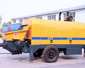 Aimix Hbts90 Concrete Pump Was Sent To Korea On March 29, 2019