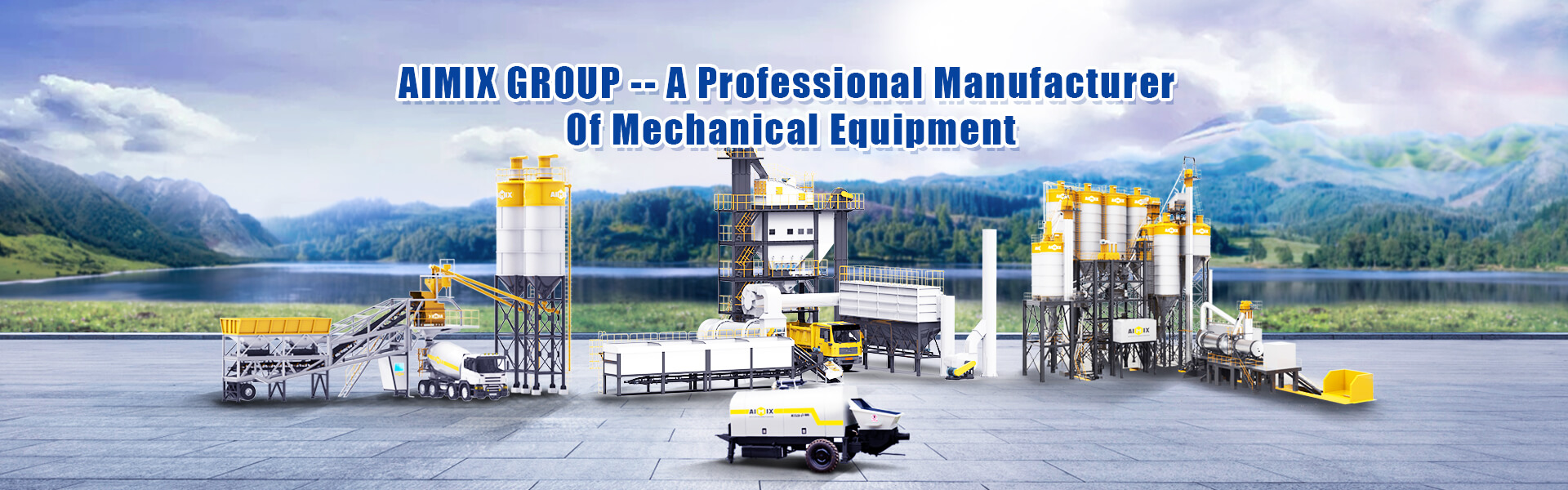 Aimix Group - Experienced China Construction Machinery Supplier