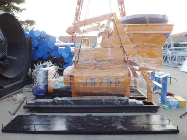 Aimix AJ35 Concrete Plant Sent to Uzbekistan 3