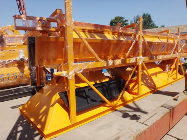 Aimix AJ35 Concrete Plant Sent to Uzbekistan 4
