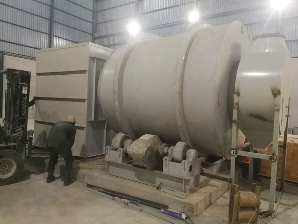 Aimix dry mortar plant set up in Zambia 4