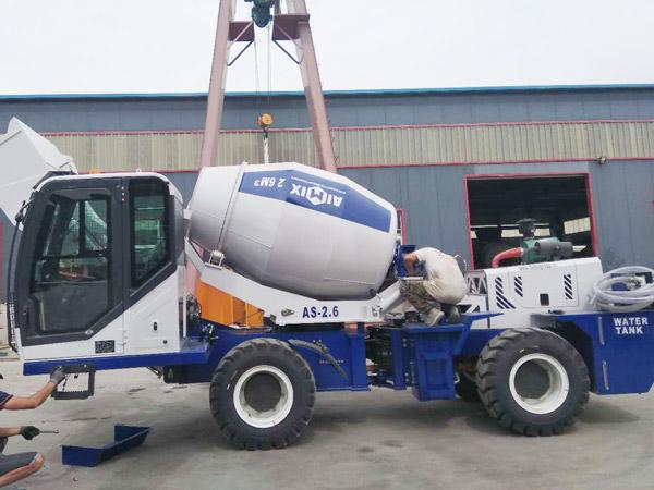 AIMIX self-loading mixer to Kazakhstan