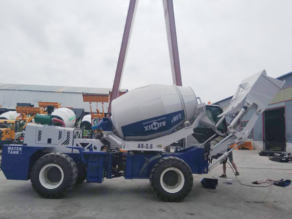 AIMIX self loading mixer to Kazakhstan