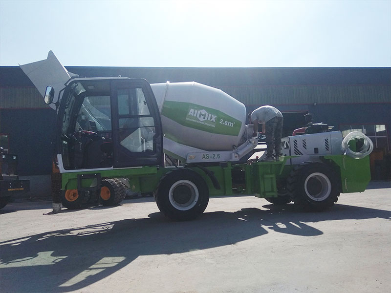 AIMIX AS2.6 self load mixer to the Philippines