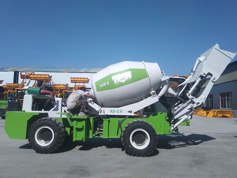 AIMIX AS2.6 self load mixers to the Philippines