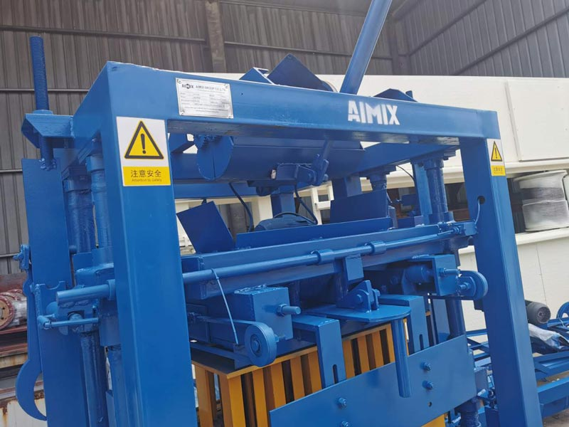 AIMIX concrete block machine to the Philippines