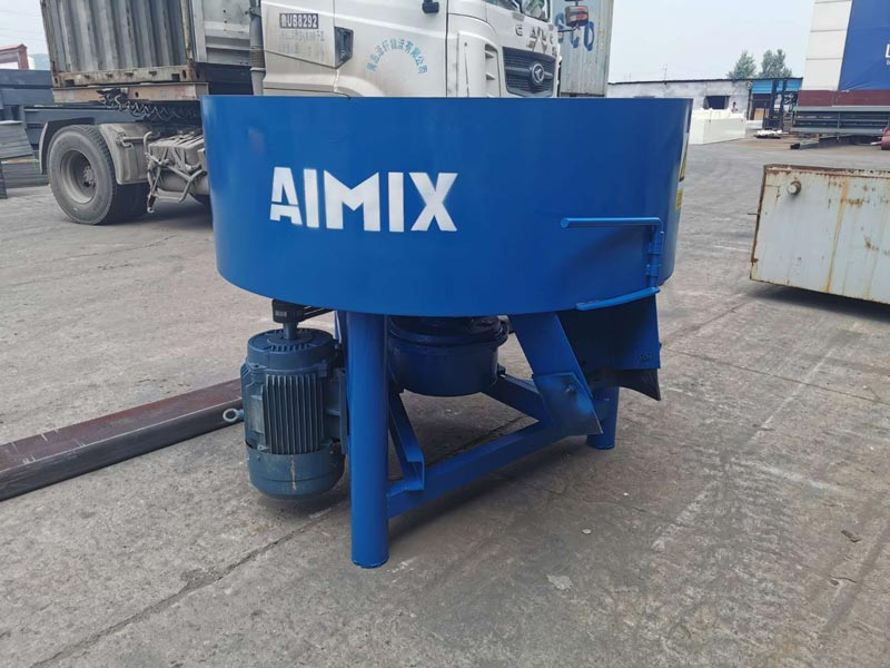 AIMIX concrete mixer sent to Philippines