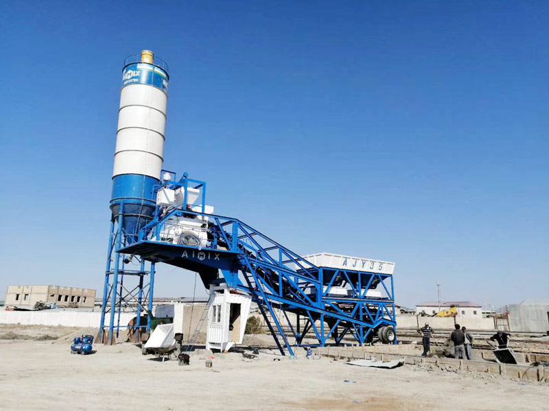 35 mobile batching plant