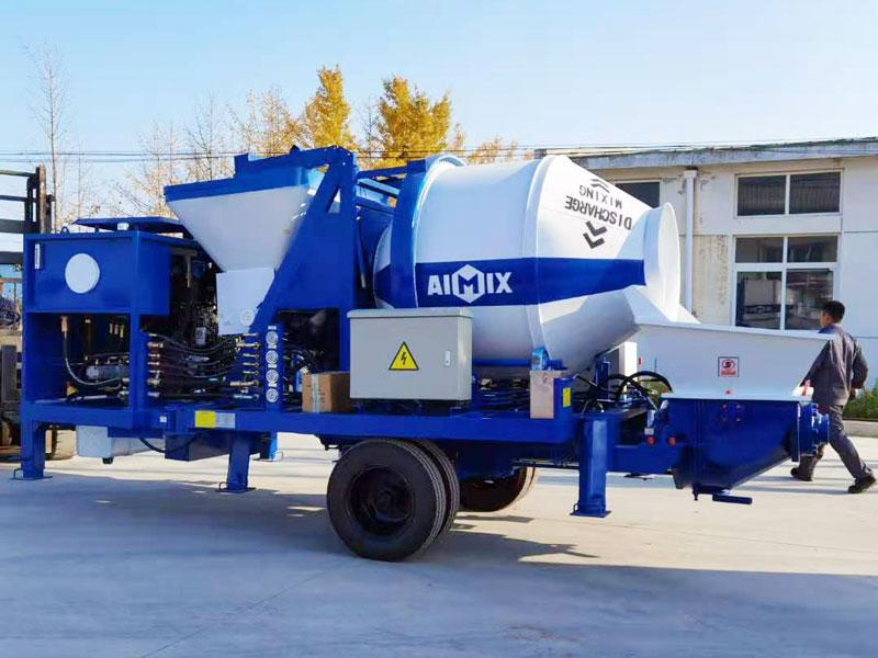 ABJZ40C Diesel mixer pump sent to the Philippines