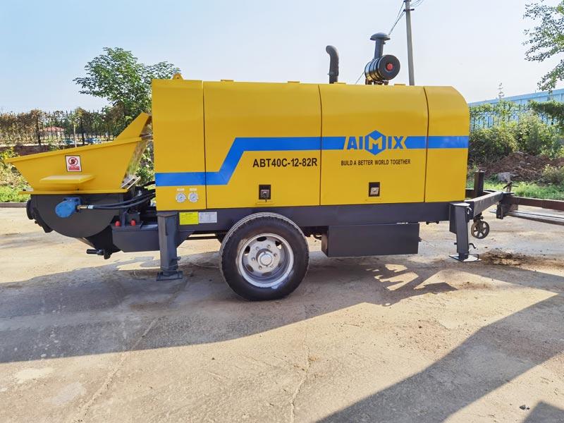 ABT40C diesel concrete pump to the Philippines