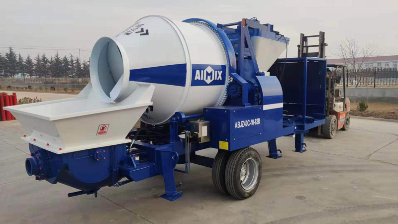 ABJZ40C diesel mixer pump to Canada loaded