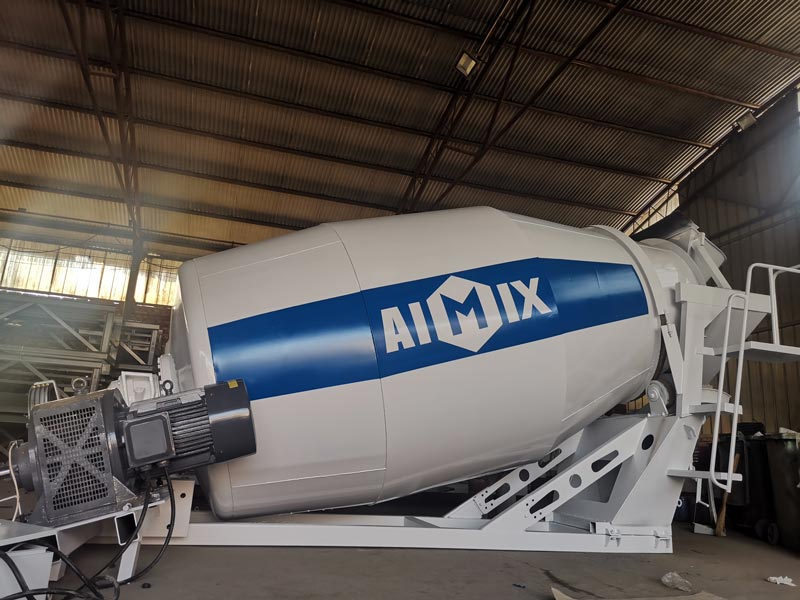 AIMIX 8m3 Concrete Mixer Drum to Indonesia