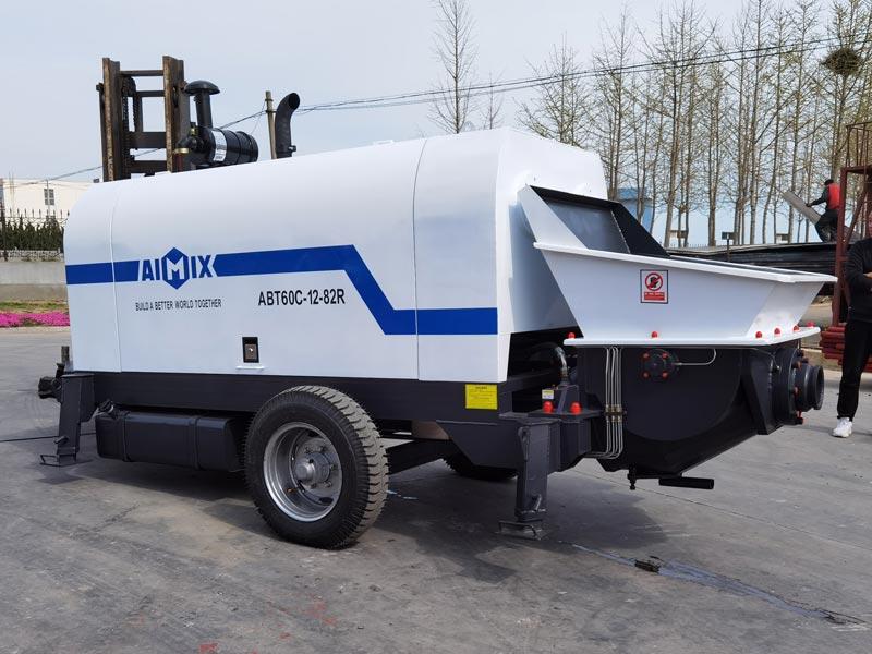 60C diesel concrete pump