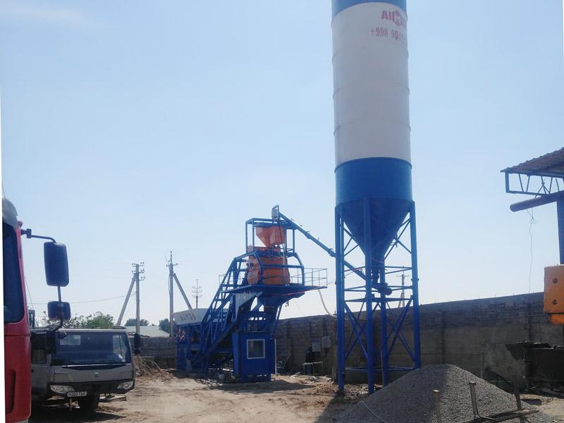 AIMIX AJY35 mobile batching plant